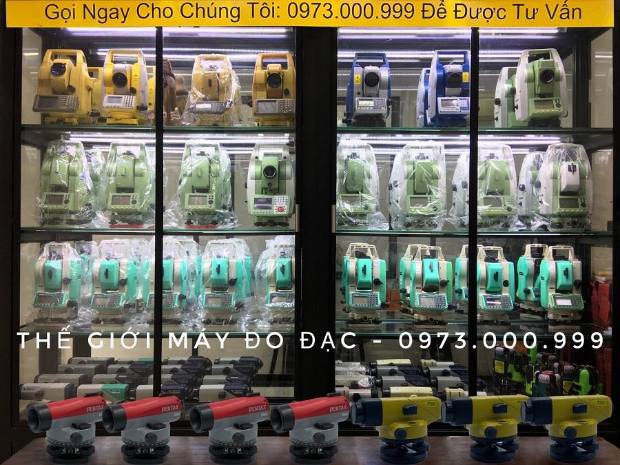 máy thủy bình pentax ap 281 và ap 241 tại thế giới máy đo đạc