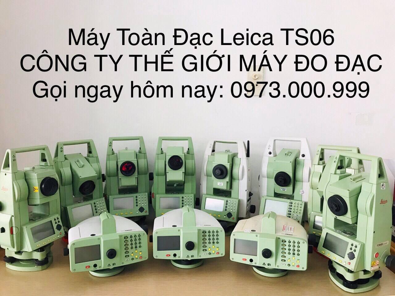 máy toàn đạc điện tử leica ts06Plus