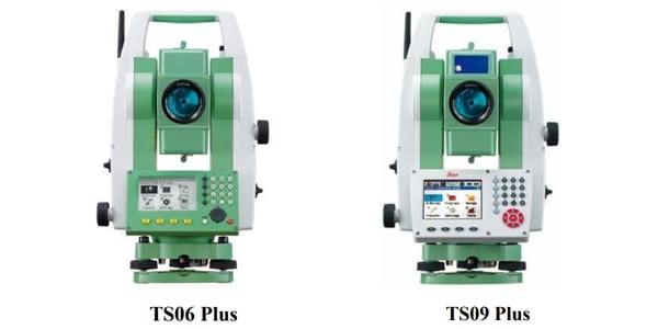 leica ts06plus và ts09plus