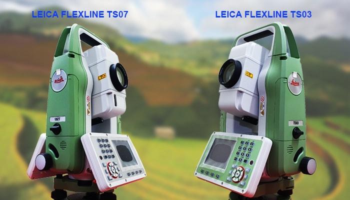 máy toàn đạc điện tử leica ts03/ts07