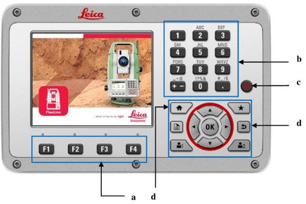 màn hình leica ts03/ts07