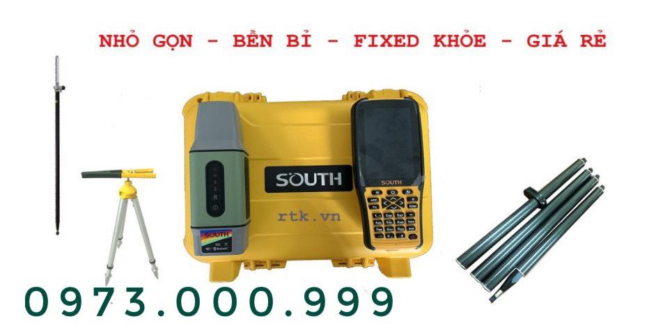 nguyên hộp máy định vị gps rtk south k98 mini