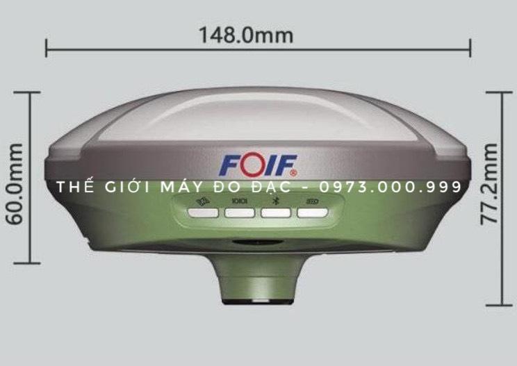 kích thước máy gps rtk foif a70