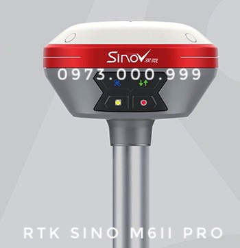 máy gps 2 tần số rtk sino m6ii pro