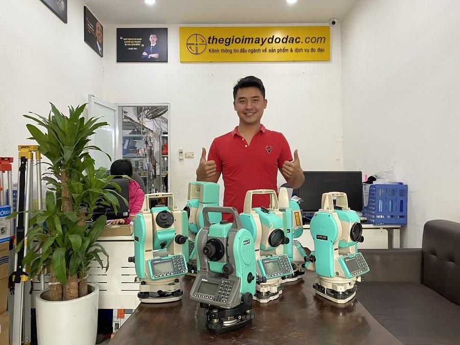 máy toàn đạc nikon n tại công ty thế giới máy đo đạc