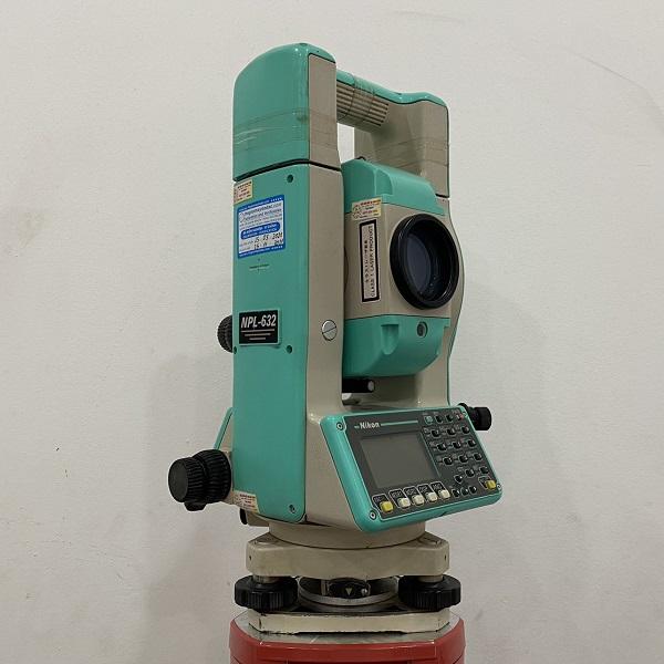máy toàn đạc nikon npn 632 cũ