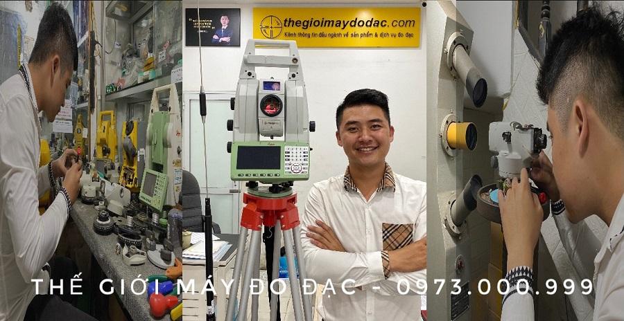 sửa máy thủy bình tại công ty thế giới máy đo đạc