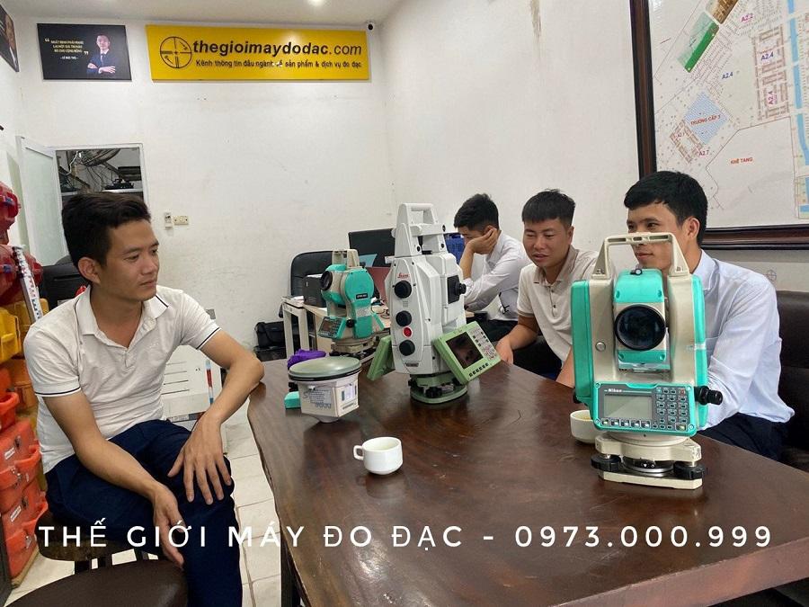 thiết bị kiểm định hiệu chuẩn hiện đại tại công ty thế giới máy đo đạc